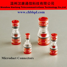 couper HDPE micro duct,air blow fiber,micro duct fittings,microfit