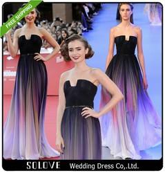 Elegant Chiffon Elie Saab Evening Dress Wholesale Price
