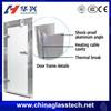 Virgin Aluminum profile thermal break China famous brand aluminum angle airtight door