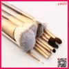 YASHI factory nylon hair makup brush 24pcs set with pu bag wood handle cosmetic brush set