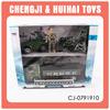 Wholesale plastic friction car army toys set