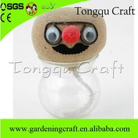 guanzhou promotional grass growing head promotive gift items in china
