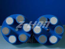 "2"" Resin +Matal bond Diamond floor Polishing Pad for concrete"