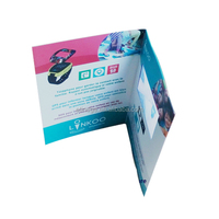 free logo branding with video brochure card