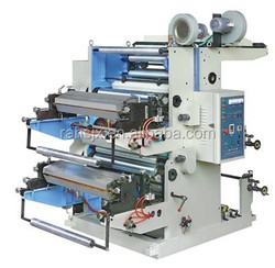 YT-2800 two colors 800mm wide roll film flexo printing machinery