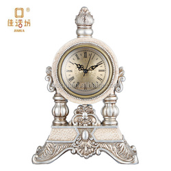 unique luxury table clock for bedroom home decoration with factory price