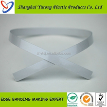 high grade interior decorative popular color PVC edge banding for home furniture accessory