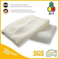 2015 new arrival & free sample panda bamboo memory foam pillow