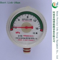 The biogas pressure gauge is used mainly for family size biogas system