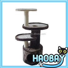 Hot sale wholesale Cat Climbing Frame/Cat Tree for cats to hide and play