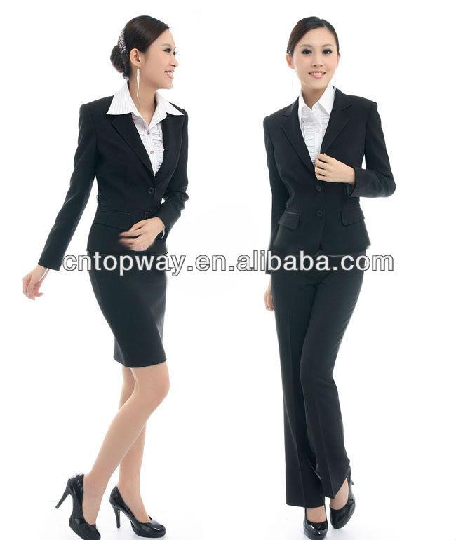 Moda uniforme de la oficina de diseños para mujeres 2013