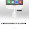 Magnetic usb cable usb data cable for iphone and ipad