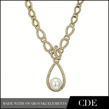 Fashion Costume Jewelry China Pearl Ball Necklace N0215B