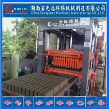 Brick production line machine thailand soil interlocking brick machine