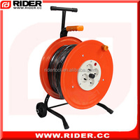 CE approve cable reel trailers steel cable reels with wheels