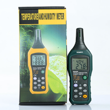 2015 Inexpensive 100 Groups Data Hold Professional Digital Temperature and Humidity Tester MS6508