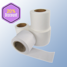 Heat sealing coffee and tea filter paper