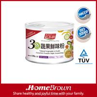 HOME BROWN Natural Vegetable & fruits Gourmet Powder Triple Seasoning