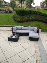 luxury outdoor garden sofas furniture rattan balcony sofa set