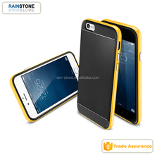 Shockproof armor case for iPhone 5, mobile phone cover for iPhone 5S with metal bumper