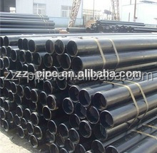 ASTM A53 Black thick wall welded steel pipe price per piece