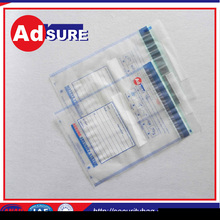 security sealing/Documents Security Bags/packaging bag security tamper