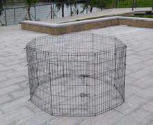 Metal folding pet playpen dog cat rabbit puppy exercise play pen wire enclosure large crate 8 pannels
