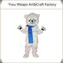 China Manufacturer Carnival Party Cute Polar Bear Adult Mascot Costume