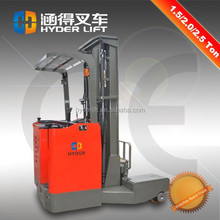shanghai wholesale china fork reach electric stacker for narrow aisle
