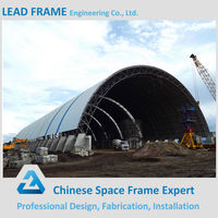 Wind Protection Steel Space Grid Frame Structure for Power Plant in Phillipine