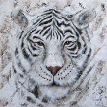 Animal oil painting of tiger on canvas for home decoration,animal oil painting,canvas oil painting tigers