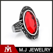2015 jewelry mens gothic 316L stainless steel punk statement party rings