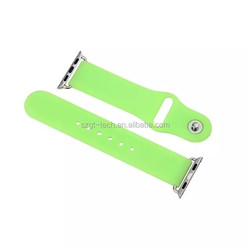 for Apple Watch silicone Watch Strap Band with Adapter