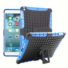 Hot selling Heavy Duty Hybrid Rugged shockproof silicone tablet case for ipad air best service