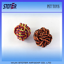 pet toys cotton rope ball for dog