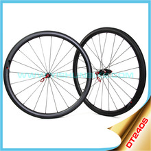 2015 YISHUNBIKE light weight carbon chinese road bike wheels high quality 11 speed 33mm bicycle clincher wheelset 240S-330C