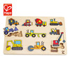 More creative fashionable innovative wooden puzzle car toys