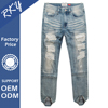Hot Sales Zip Off Trousers Pants Motorcycle Denim Pant