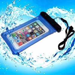 ipx8 Cheap promotional waterproof bag for samsung galaxy note with neck strap