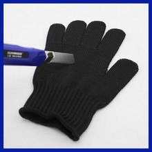 Stainless steel five fingers cut resistant gloves, safety gloves, anti cutting