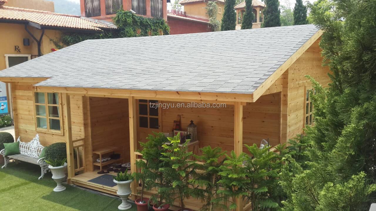 Prefab wooden cabin