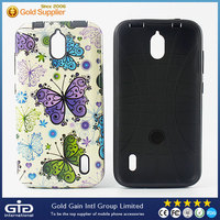 2 in 1 Case with Designs for Huawei Y625