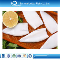 seafood export wholesale health japanese flying squid tube