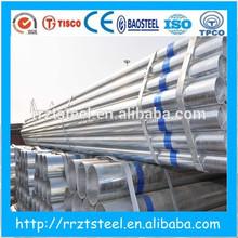 gi pipe price list ! galvanized iron tube price/galvanized scaffolding tube/50mm galvanized steel tube