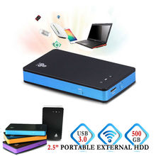 2.5 inch 500GB Wifi Portable External Hard disk Drive