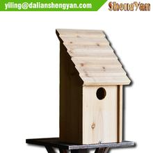 Nueva de madera sin terminar de keychain del birdhouse venta al por mayor