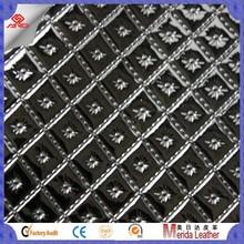 MRD3212 shining reptile skin pu leather Semi-PU/PVC Synthetic Leather, Used for Handbag,