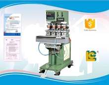 Hot sale high quality pen, balloon, bluetooth , bottle, nail pad printing machine with shuttle LC-SPM4-200L