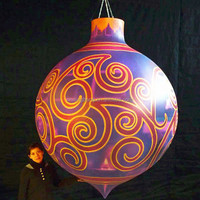 NB-CM-3018 With LED popular inflatable ball for christmas decoration