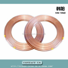thick copper pipe 15.88*0.81 , mini copper tube 15.88*0.81 , 5/8 inch air condition copper tube/insulated copper 15.88*0.81